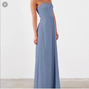 Strapless Bridesmaids Dress